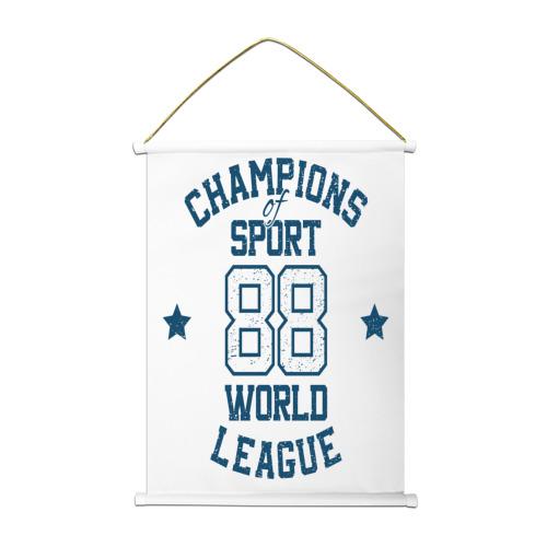 Тканевый плакат  Фото 01, Champions League 88