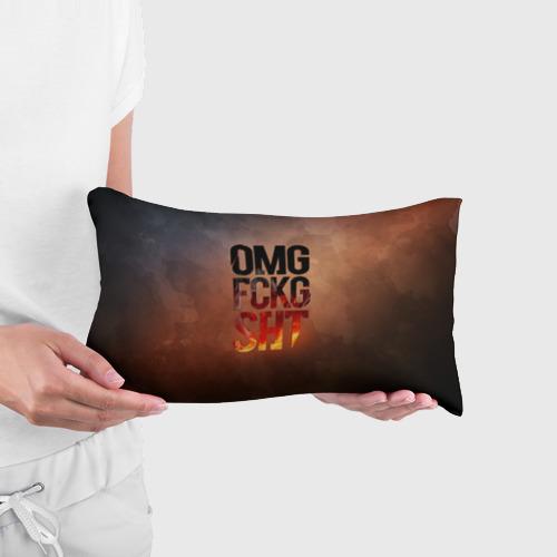 Подушка 3D антистресс OMG FCKG SHT Фото 01