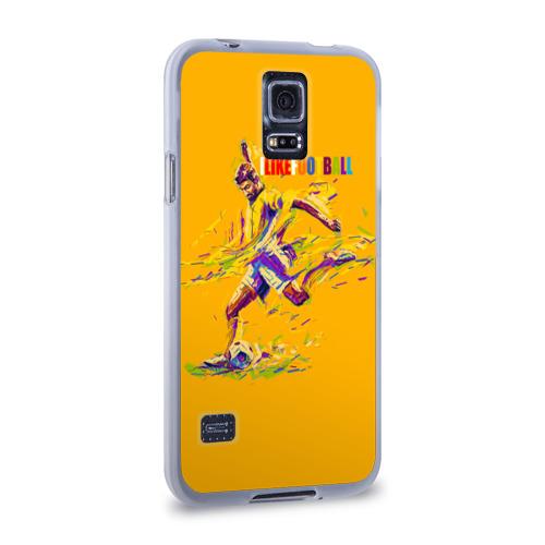 Чехол для Samsung Galaxy S5 силиконовый  Фото 02, I like football