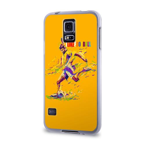 Чехол для Samsung Galaxy S5 силиконовый  Фото 03, I like football