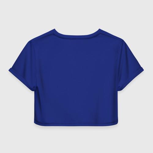 Женская футболка 3D укороченная  Фото 02, Башни
