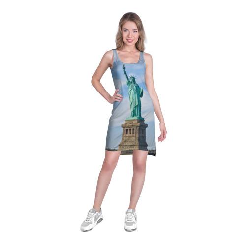 Платье-майка 3D  Фото 03, Статуя свободы