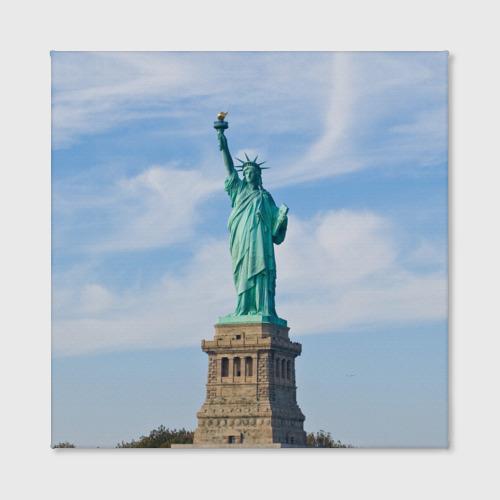 Холст квадратный  Фото 02, Статуя свободы