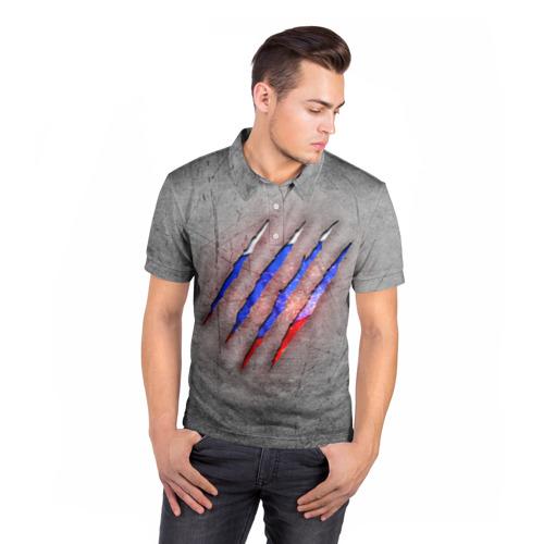 Мужская рубашка поло 3D  Фото 05, Русский изнутри