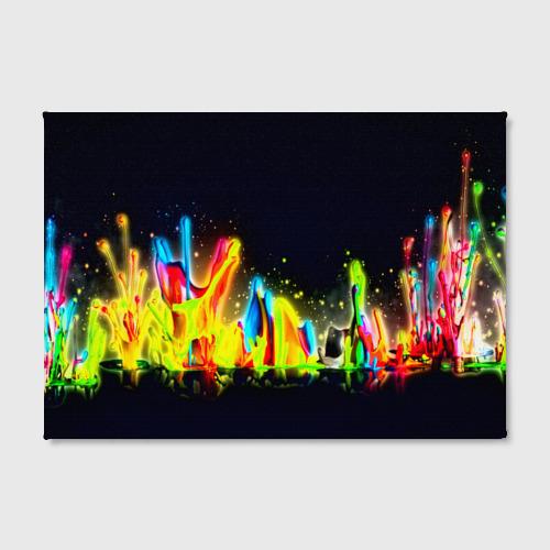 Холст прямоугольный  Фото 02, Взрыв красок