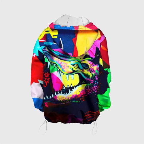 Детская куртка 3D  Фото 02, Крокодил