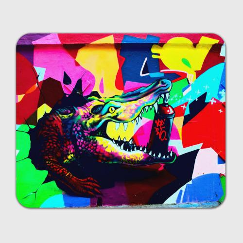 Коврик для мышки прямоугольный  Фото 01, Крокодил