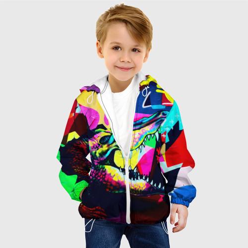 Детская куртка 3D  Фото 03, Крокодил