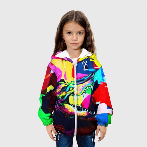 Детская куртка 3D  Фото 04, Крокодил