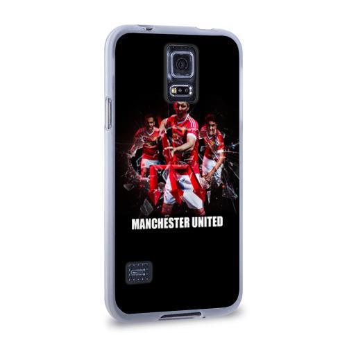 Чехол для Samsung Galaxy S5 силиконовый  Фото 02, Manchester united