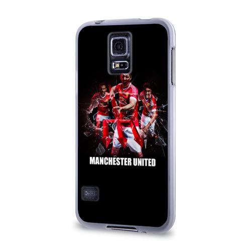 Чехол для Samsung Galaxy S5 силиконовый  Фото 03, Manchester united