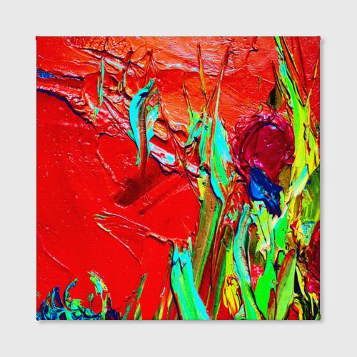 Холст квадратный  Фото 02, Масляные краски