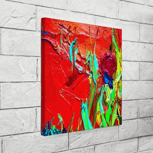 Холст квадратный  Фото 03, Масляные краски