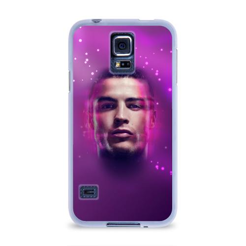 Чехол для Samsung Galaxy S5 силиконовый  Фото 01, Роналдо