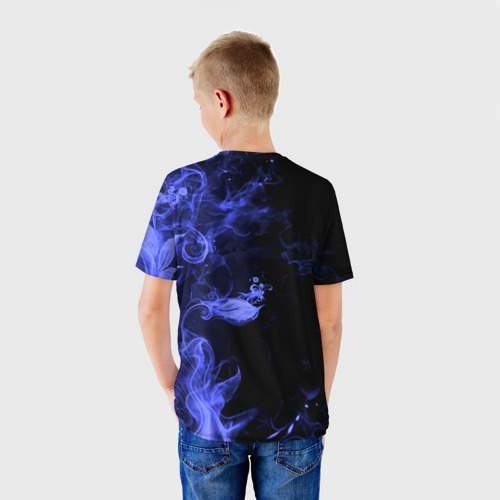 Детская футболка 3D  Фото 02, Дым