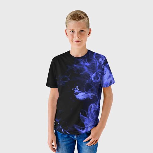 Детская футболка 3D  Фото 01, Дым
