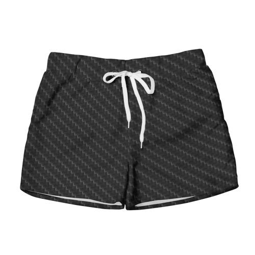Женские шорты 3D Карбон