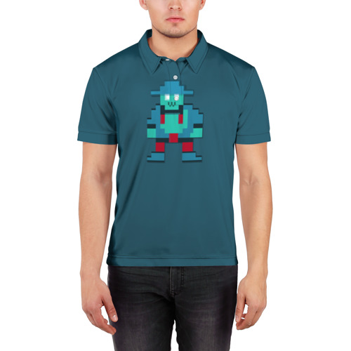 Мужская рубашка поло 3D  Фото 03, Storm Spirit