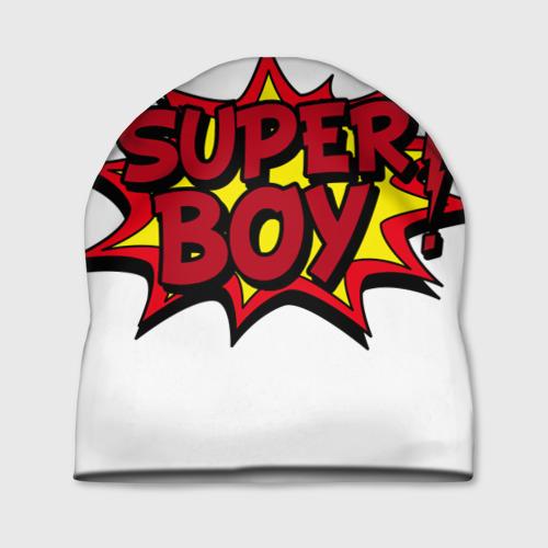 Шапка 3D Super boy