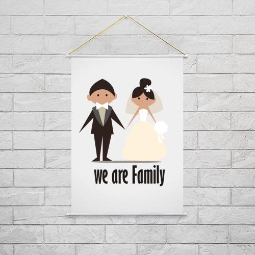 Тканевый плакат  Фото 02, Family