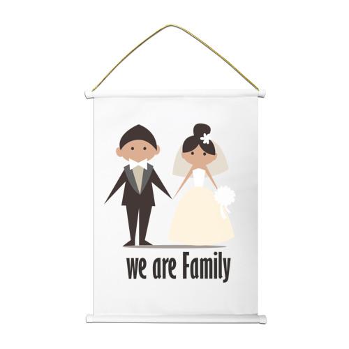 Тканевый плакат  Фото 01, Family