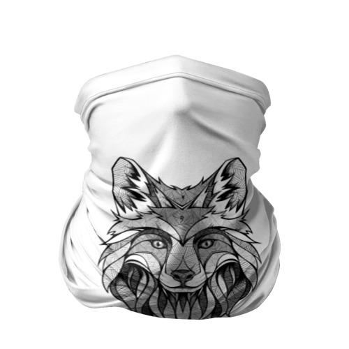 Бандана-труба 3D  Фото 01, арт волк
