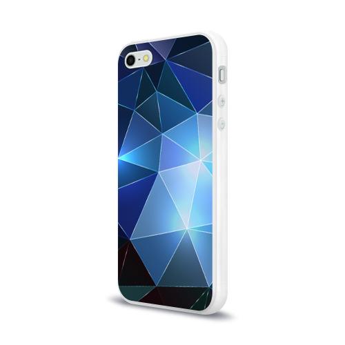 Чехол для Apple iPhone 5/5S силиконовый глянцевый  Фото 03, Polygonal