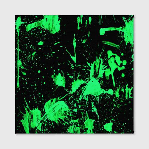 Холст квадратный  Фото 02, Брызги красок