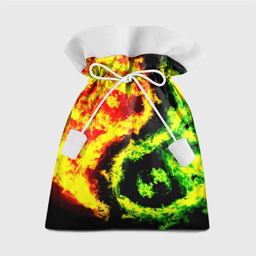 Подарочный 3D мешок Огни от Всемайки