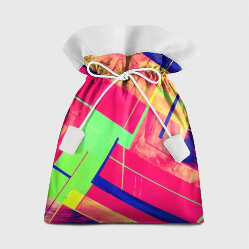 Подарочный 3D мешок Геометрия от Всемайки