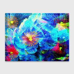Голубой цветок