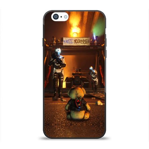 Чехол для Apple iPhone 6 силиконовый глянцевый Bear от Всемайки