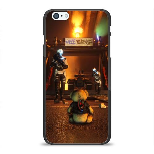 Чехол для Apple iPhone 6/6S Plus силиконовый глянцевый Bear от Всемайки