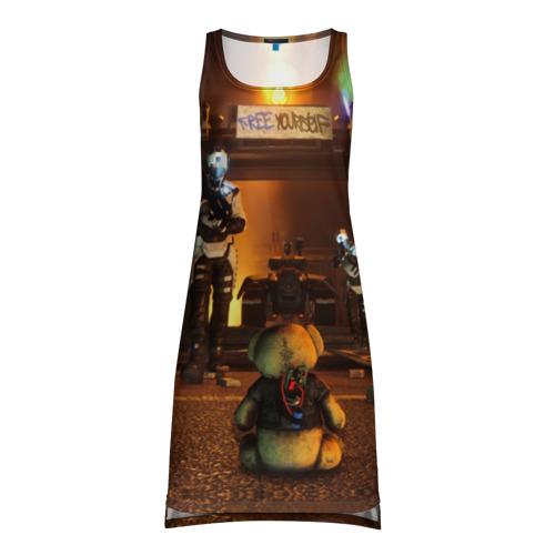 Платье-майка 3D Bear