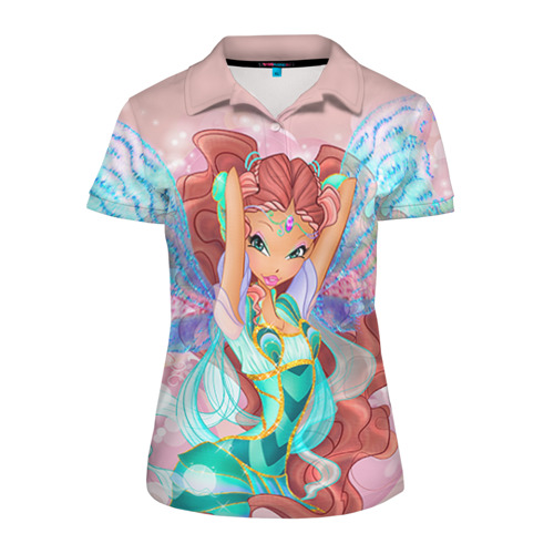Женская рубашка поло 3D Винкс