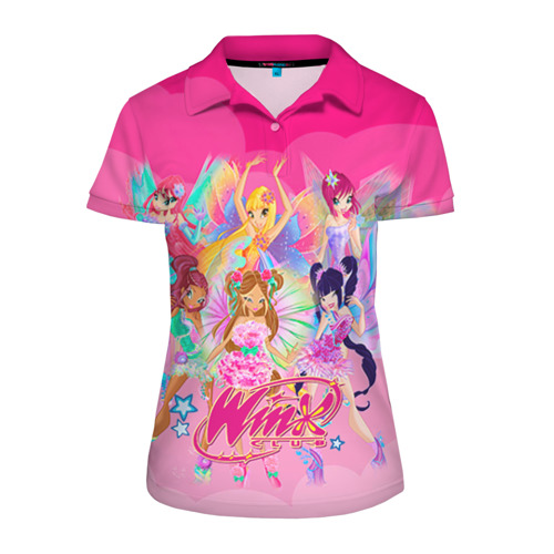 Женская рубашка поло 3D WinX