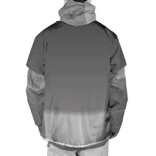 Накидка на куртку 3D  Фото 02, Краски-кубики