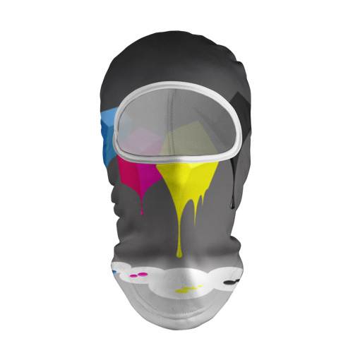 Балаклава 3D  Фото 01, Краски-кубики