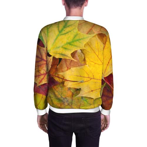 Мужской бомбер 3D  Фото 04, Осенние листья