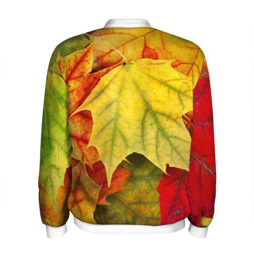 Мужской бомбер 3D  Фото 02, Кленовые листья