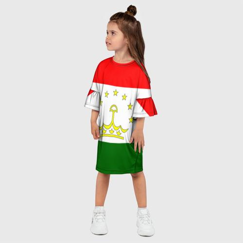 Детское платье 3D  Фото 03, Таджикистан