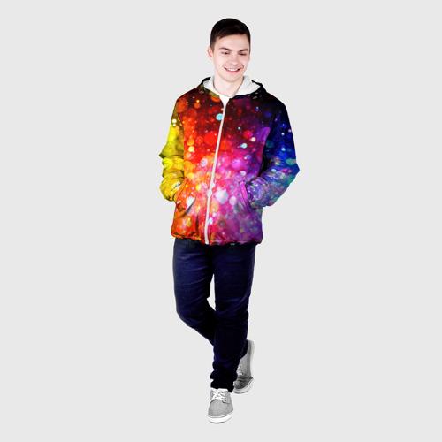 Мужская куртка 3D  Фото 03, Круги