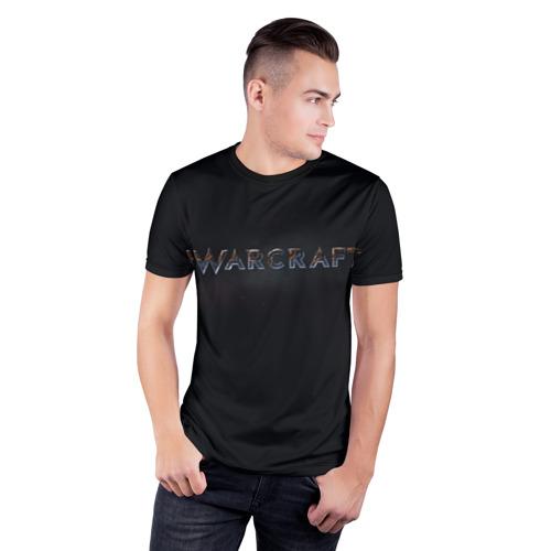 Мужская футболка 3D спортивная  Фото 03, Warcraft