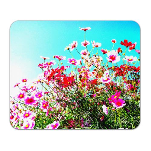 Коврик прямоугольный Поле цветов от Всемайки