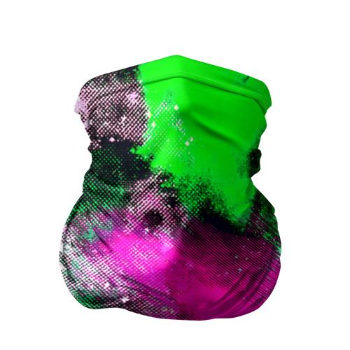 Бандана-труба 3D  Фото 01, Брызги красок