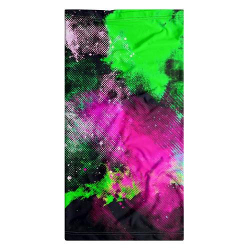 Бандана-труба 3D  Фото 07, Брызги красок