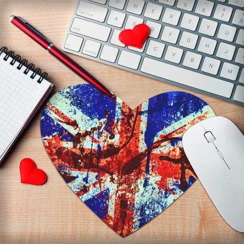 Коврик сердце  Фото 02, Англия