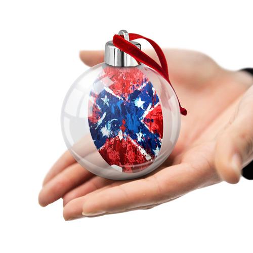 Ёлочный шар  Фото 02, Флаг