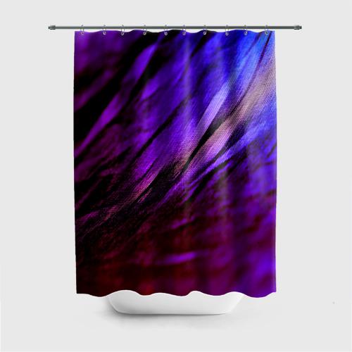Штора для ванной Фиолетовый от Всемайки