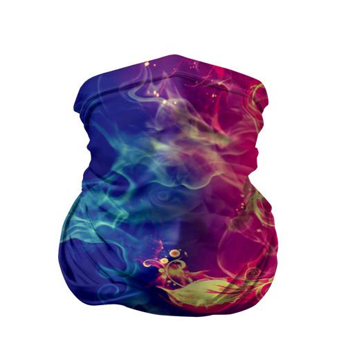 Бандана-труба 3D  Фото 01, Цветок в огне 2